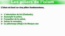 Apprendre l'islam : Les cinq piliers de l'islam VF