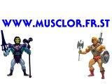Publicité des Maitres De LUnivers STRICTOR FRAK ATTAK MOUSTICOR REPTICOR HORDAK DIABOLIQUE