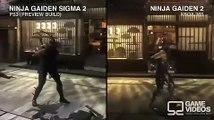 Ninja Gaiden Sigma 2(ps3) vs Ninja Gaiden 2(xbox 360)