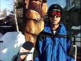 Northstar Tahoe Snowboarding action