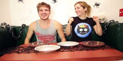 UNBELIEVABLE!!     Eating Dirt! w/ Joey Graceffa | Spooky Challenges Amazing!!! - Faster - HD