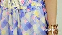 【夢展望】フリル襟コルセット風ワンピース ワンピース ワンピース 517029