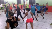 Dança na vital fitness academia São Luís. Professor juninho axé