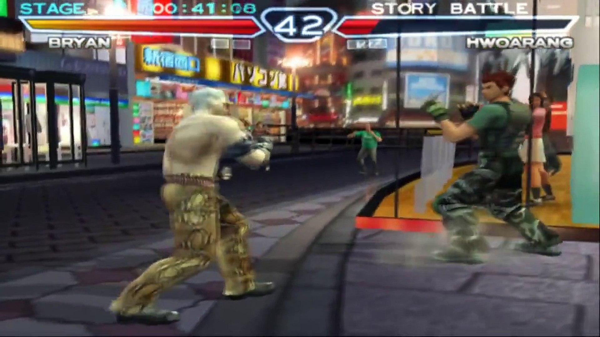 Tekken 4 Bryan Fury Playthrough Video Dailymotion