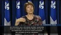 Québec solidaire sur IVAC / le printemps érable