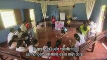 Linda geeft seksuele voorlichting in Nicaragua