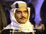 Tribute to Omar Sharif Lawrence of Arabia star dies aged 83