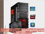 dercomputerladen Gamer PC System Intel i5-4690 4x35 GHz 8GB RAM 1000GB HDD Radeon R9 280X -3GB