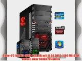 dercomputerladen Gamer PC System Intel i5-4690 4x35 GHz 16GB RAM 500GB HDD Radeon R9 280X -3GB