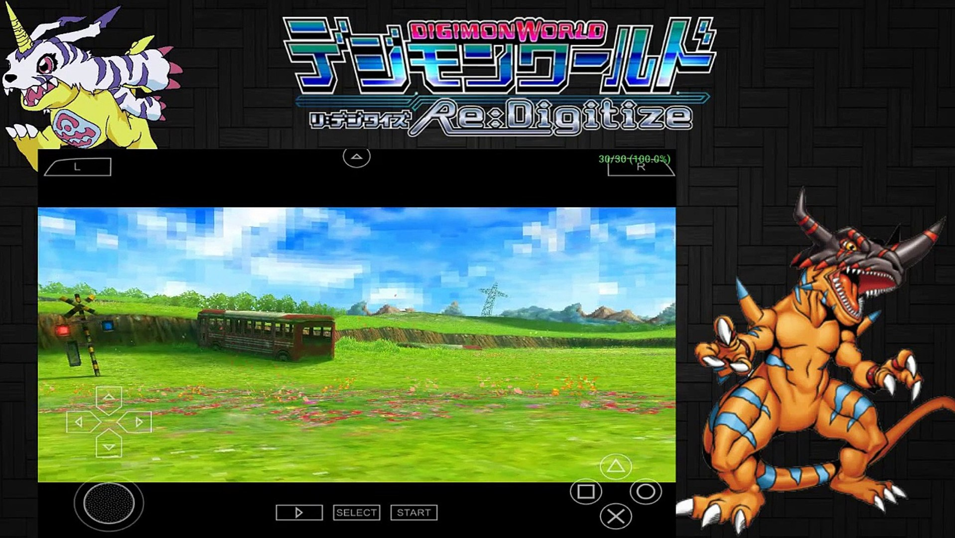 PPSSPP v1 0 1 0 Digimon World Re Digitize English GAMEPLAY full speed  settings 2015 (HD)