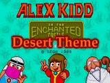 Alex Kidd - Desert Theme