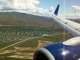 Delta 737-800 Salt Lake City to Boise