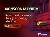 Rahul Gandhi, Arun Jaitley & Sushma Swaraj Fight Over Lalit-Gate In Parliament