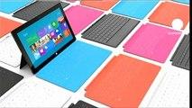 "Microsoft lance ""Surface"", sa tablette tactile"