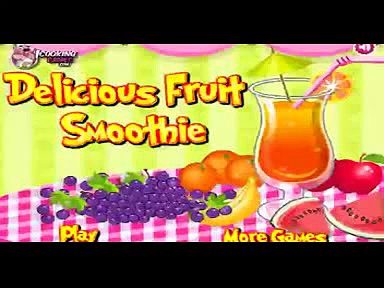 Delicious Fruit Smoothie Games Cooking Games Girl Games games