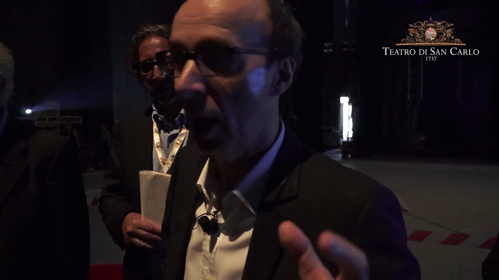 Inside Teatro San Carlo / Speciale Repubblica delle Idee - Il saluto di Roberto Benigni