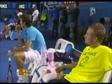 The comedy tennis match ( andy roddick - roger federer - rafael nadal - novak djokovic ) - part 3