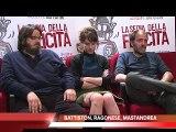 LA SEDIA DELLA FELICITA' intervista GIUSEPPE BATTISTON, VALERIO MASTANDREA, ISABELLA RAGONESE