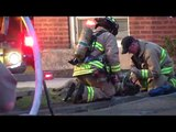 firefighters rescue and resuscitate dog from house fire AMAzing Heart Warming!