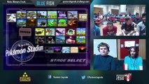 BLUE FISH WF: DJ Nintendo + The Moon (Blue) vs Jeapie + Lucky (Red)
