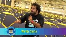 Web Celeb Brasil - Warley Santana mostra as acomodações da Campus Party 2011