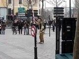 Manifestation contre le CPE à Rennes