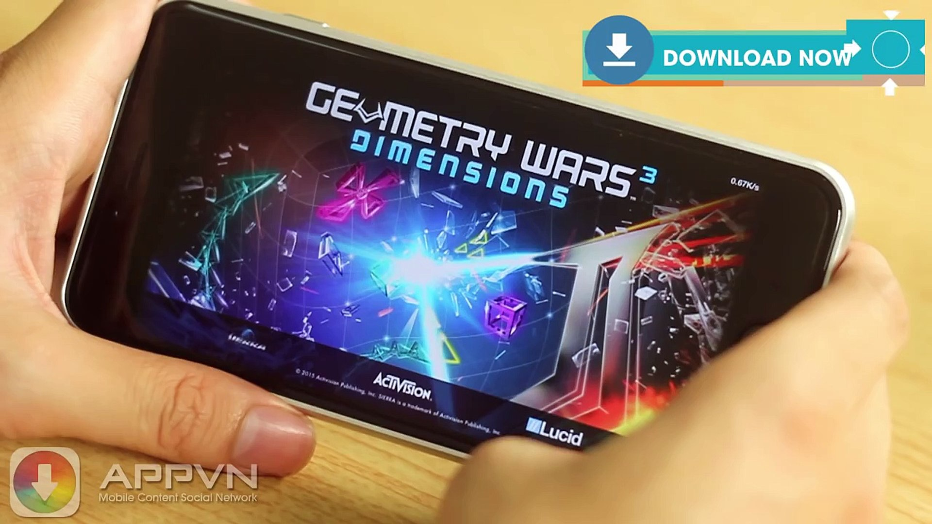 [Game IOS] Geometry Wars 3 - Chiến tranh thế giới 3 - AppStore.Vn
