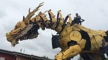 La première sortie de Long Ma, le cheval-dragon