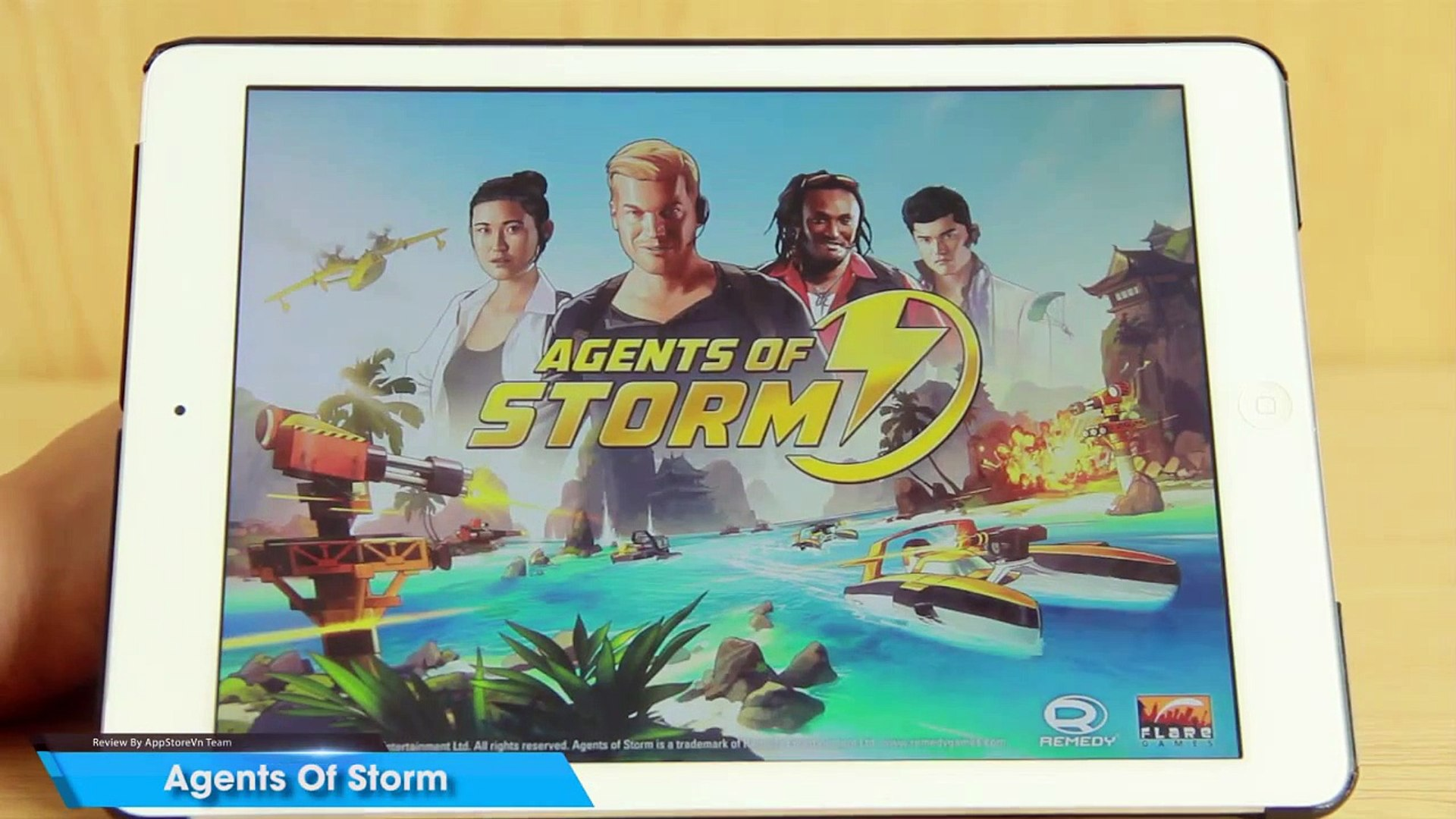 [iOS Game] Agents Of Storm - Chiến tranh vùng vịnh - AppStoreVn