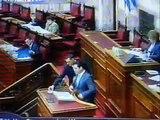 Άδωνις Γεωργιάδης,ομιλία στην βουλή