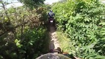 HANOI MOTORCYCLE TOURS - Off road Motorbike Ride To LE MAT Snack Village   Offroad Indochina
