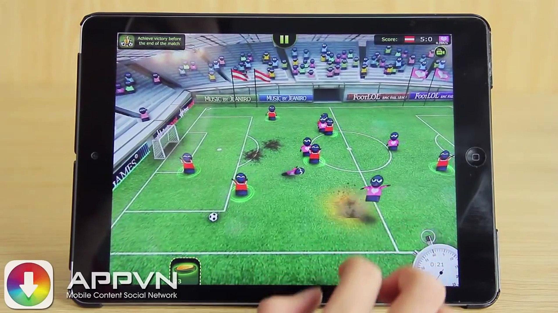 [Game] FootLOL - Bóng đá chiến tranh - AppStoreVn