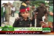 Youngest Ranger Jawaan At Wagah Border For Parade