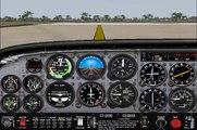 Clases de vuelo con Loquendo Primer vuelo (uso del NDB y aproximación ILS)