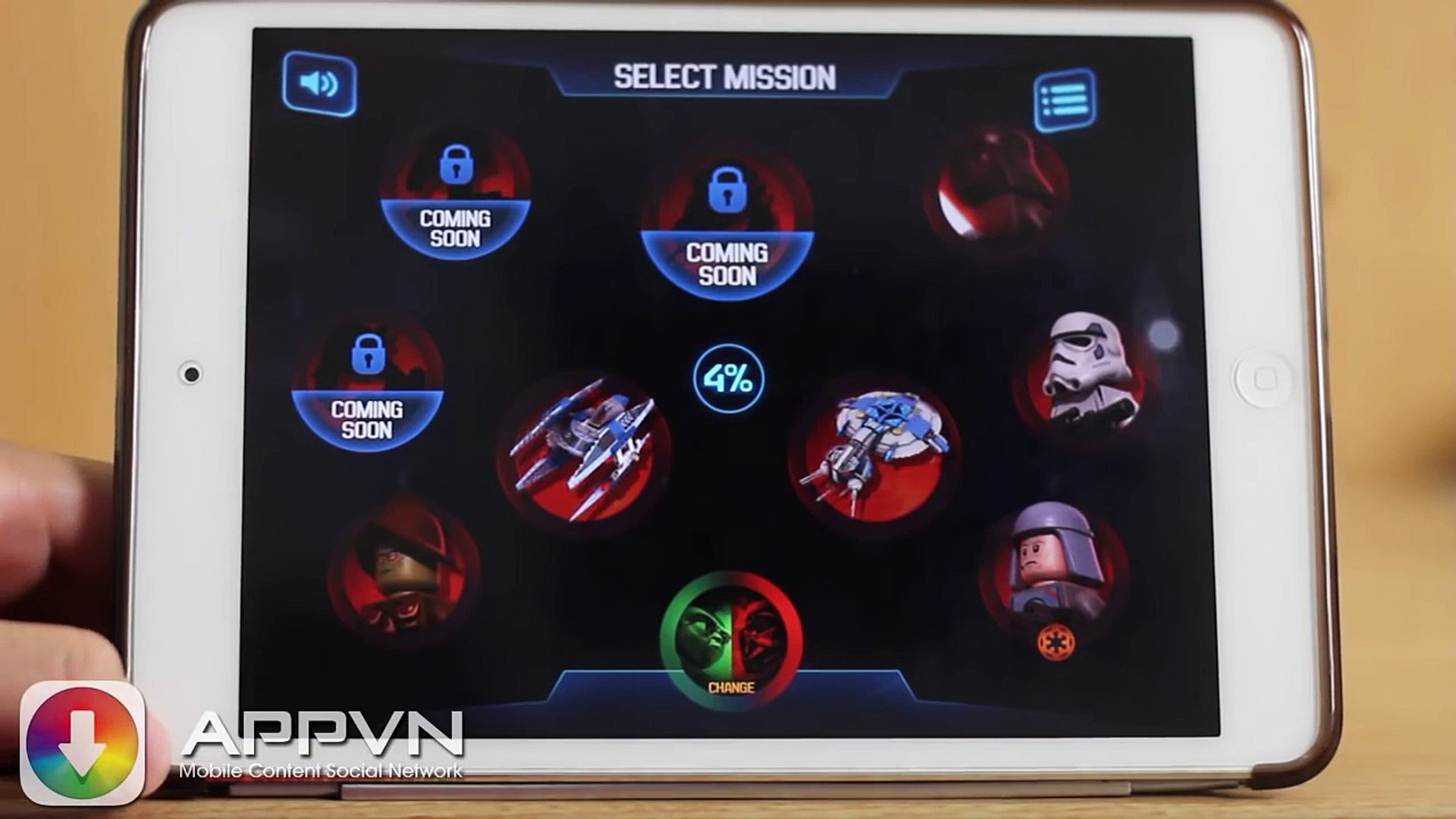 [iOS Game] LEGO® Star Wars™: Microfighters - Chiến tranh giữa các Lego - AppStoreVn