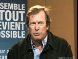 Hubert Auriol, soutient Nicolas Sarkozy