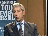 Patrick Caron soutient Nicolas Sarkozy