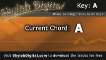 Blues Backing Tracks in any key, KEY OF A