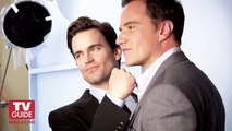 White Collar Photo Shoot 2011! Matt Bomer and Tim DeKay for TV Guide Magazine!