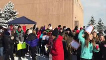 High schools students in Boulder, Colo. protest standardized testing