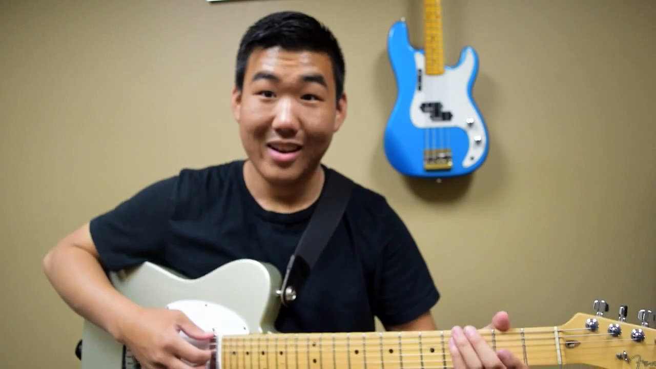 "COS Lead Guitar Tutorial for ""Yours Forever"" by Hillsong United"