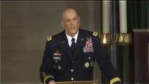 General Ray Odierno eulogy of Beau Biden during Funeral Services   Beau Biden Funeral VIDEO