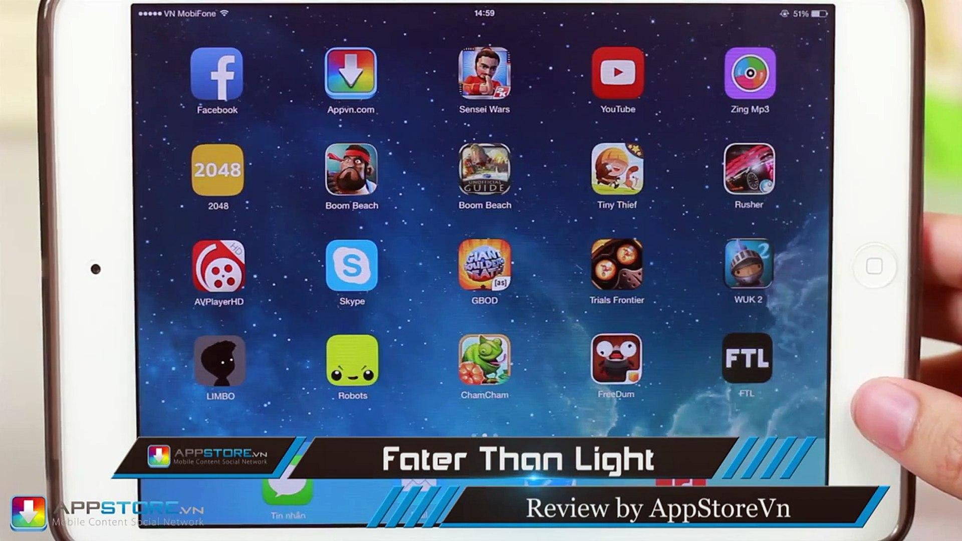 [iOS Game] Faster than light - Chiến tranh vũ trụ - AppStoreVn