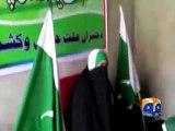 Singing Pak Sar Zameen, Kashmiris hoist Pakistan flags in Srinagar