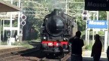 Treno storico a vapore - La Spezia-Fornaci di Barga - 3 Maggio 2009