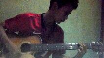 "Guitar training ""Greenday-American Idiot"""