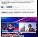 В Москве вывешен флаг Украины/Posted over Moscow Ukrainian flag
