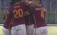 Edin Dzeko Amazing First Goal for AS Roma vs Sevilla 1-0
