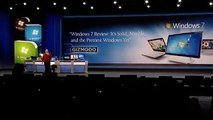 Microsoft CES 2010 Keynote - Part 3 (Windows Phone, Windows 7, All In One PCs etc)