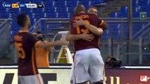 Edin Dzeko First Goal for AS Roma - AS Roma vs Sevilla 1-0 Friendly Match 2015